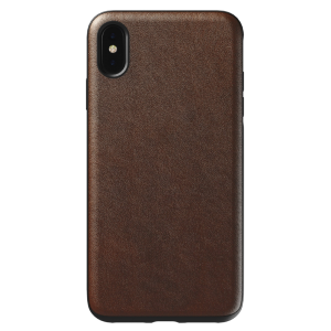 Nomad Rugged deksel til iPhone XS Max - brun