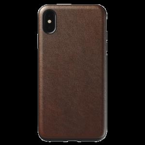 Nomad Rugged deksel til iPhone XS Max - brun
