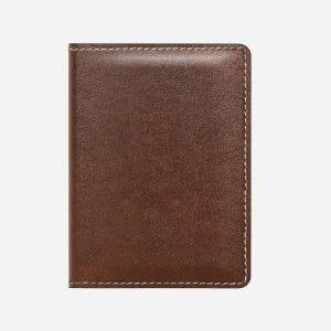 Nomad Slim Wallet lommebok i skinn - brun