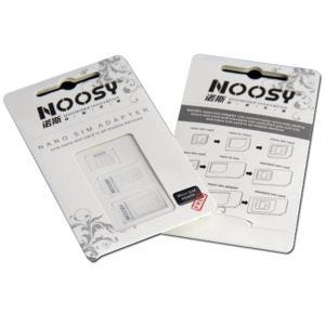 Noosy 3-in-1 Micro Sim Adapter