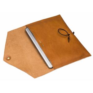 P.A.P SALTHOLMEN skinnetui for iPad 9,7-tommer - solbrun