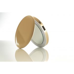 Pearl Compact Mirror + Battery Pack - gull