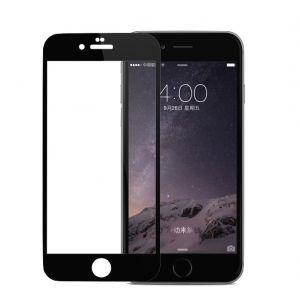 Pomologic iPhone 6s Plus-skjermbeskytter i glass - svart