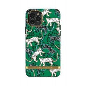 Richmond & Finch deksel til iPhone 11 Pro - Green Leopard