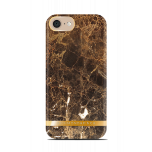 Richmond & Finch iPhone 8/7 deksel - Brown Marble