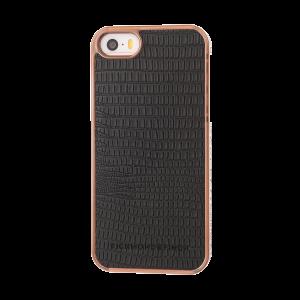 Richmond & Finch iPhone SE-deksel - Framed Rosé Black Reptile