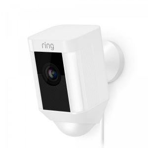 Ring Spotlight Cam Wired - hvit