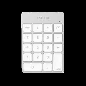 Satechi Slim trådløst numerisk tastatur - sølv