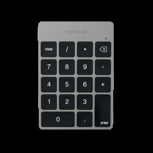 Satechi Slim trådløst numerisk tastatur - stellargrå