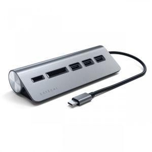 Satechi USB-C hub - stellargrå