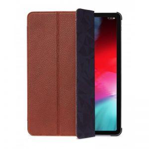 "Decoded 12,9"" iPad Pro slimcover i skinn (brun)"