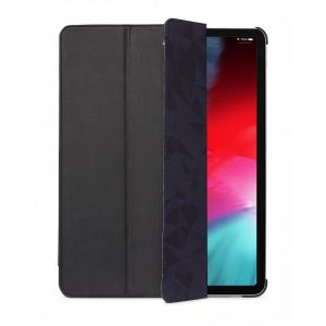 "Decoded 12,9"" iPad Pro slimcover i skinn (svart)"