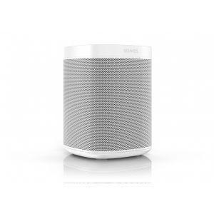 Sonos One smarthøyttaler - hvit (Gen. 2)