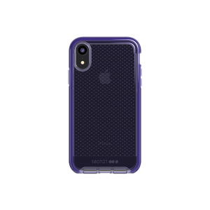 Tech21 Evo Check deksel til iPhone XR - lilla