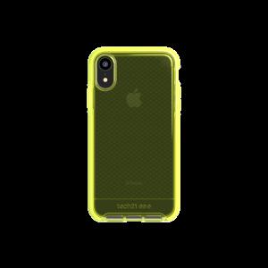 Tech21 Evo Check deksel til iPhone XR - neongul