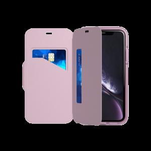 Tech21 Evo Wallet til iPhone XR - orkide