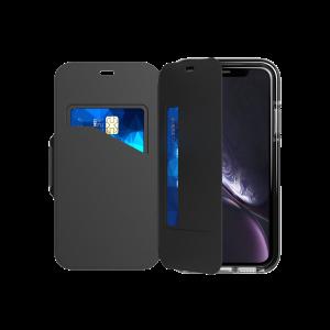 Tech21 Evo Wallet til iPhone XR - svart