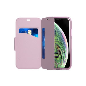 Tech21 Evo Wallet til iPhone XS - orkide