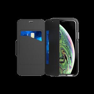 Tech21 Evo Wallet til iPhone XS - svart