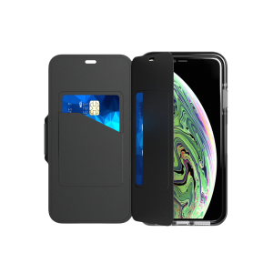 Tech21 Evo Wallet til iPhone XS Max - svart