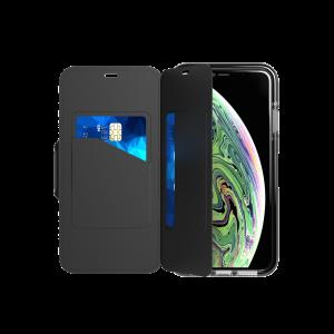 Tech21 Evo Wallet til iPhone XS Max - svart