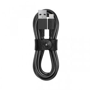 Native Union x Tom Dixon Coil Cable 1,2 m - svart
