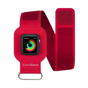 Twelve South ActionSleeve armbånd til Apple Watch 38 mm - rød
