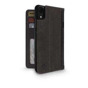 Twelve South BookBook lommeboketui til iPhone XR - brun