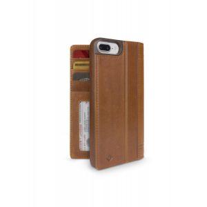 Twelve South Journal lommeboketui til iPhone 8 Plus/7 Plus - konjakk