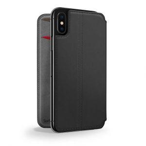 Twelve South SurfacePad lommeboketui til iPhone X - svart