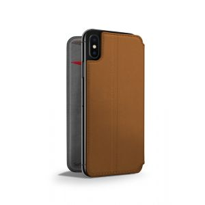 Twelve South SurfacePad lommeboketui til iPhone XS Max - brun