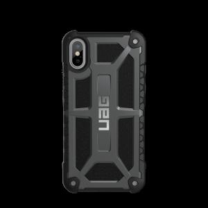 UAG Monarch deksel til iPhone XS - mørk grå