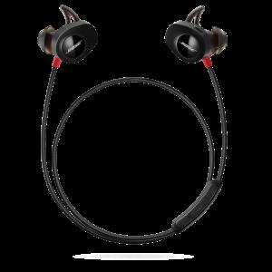 Bose SoundSport Wireless Pulse trådløse ørepropper rød og svart