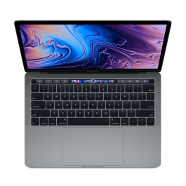 MacBook Pro 13 tommer med Touch Bar 2,4 GHz 256GB i stellargrå