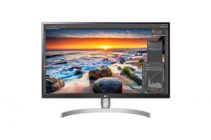 LG 27UL850-W 27-tommer 4K skjerm USB-C