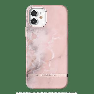 Richmond & Finch deksel for iPhone 12 mini i rosa marmormønster