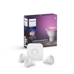 Philips Hue White And Color Startsett GU10