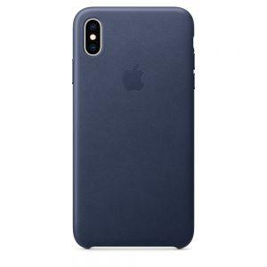 Apple skinndeksel til iPhone XS Max – midnight blue