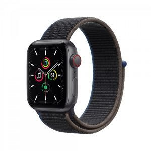 Apple Watch SE Cellular 40 mm - Stellargrå med koksgrå Sport Loop