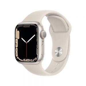 Apple Watch Series 7 41 mm Aluminium - Stjerneskinn med Stjerneskinn Sport Band