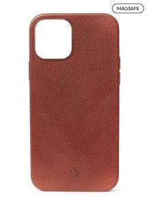 Decoded Backcover skinndeksel med MagSafe støtte til iPhone 12 / 12 Pro - Brun