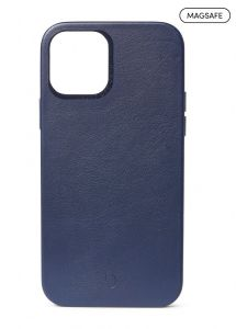 Decoded Backcover skinndeksel med MagSafe støtte til iPhone 12 / 12 Pro - Blå