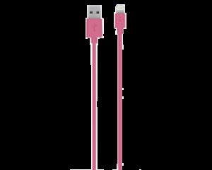 Belkin 1,2m MIXIT↑ USB til Lightning-kabel rosa