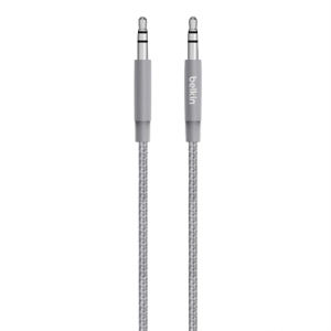 Belkin MIXIT↑ Metallic 3,5 mm audiokabel Stellargrå