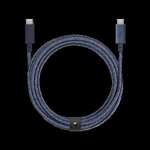 Native Union 2,4m USB-C  til USB-C kabel Pro - Indigo