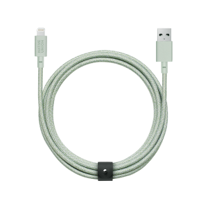 Native Union Lightning Belt Cable 3 m - Grønn