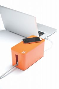 BlueLounge CableBox mini - oransje