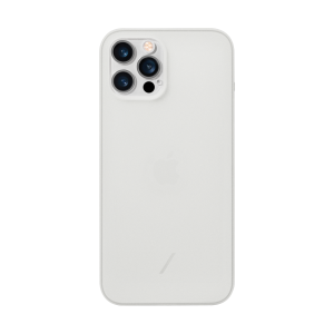 Native Union Clic Air deksel for iPhone 12 / 12 Pro i frost