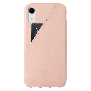 Native Union Clic Card-deksel for iPhone XR - Rose
