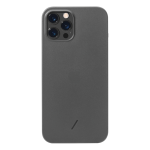 Native Union Clic Air deksel for iPhone 12 Pro Max - Grå frost
